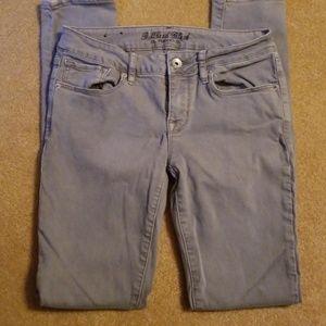 Denim - Bullhead gray skinny jeans